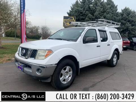 2006 Nissan Frontier for sale at Central A/S LLC in East Windsor CT
