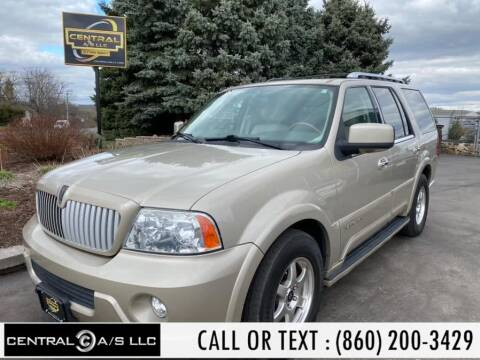 2004 Lincoln Navigator Luxury for sale at Central A/S LLC in East Windsor CT