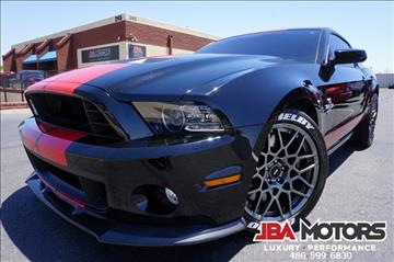 2013 Ford Shelby GT500 for sale in Mesa, AZ