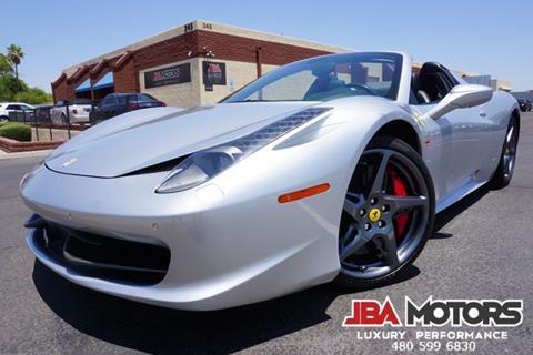 2013 Ferrari 458 Spider for sale in Mesa, AZ