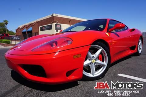 2003 Ferrari 360 Modena for sale in Mesa, AZ