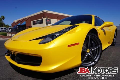 2012 Ferrari 458 Italia for sale in Mesa, AZ