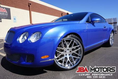 2009 Bentley Continental GT Speed for sale in Mesa, AZ