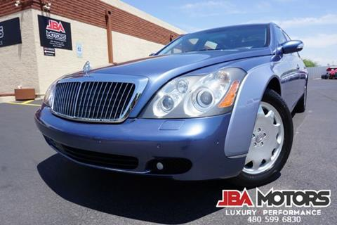 2005 Maybach 62 for sale in Mesa, AZ