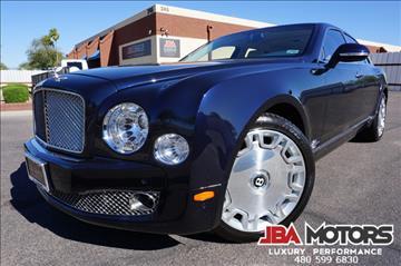 2011 Bentley Mulsanne for sale in Mesa, AZ