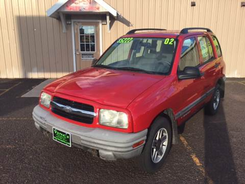 2002 Chevrolet Tracker for sale in Bessemer, MI