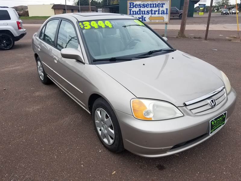 2001 Honda Civic For Sale At Vinciu0027s Auto Sales Inc. In Bessemer MI