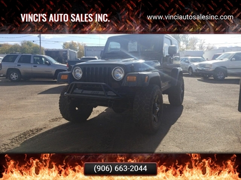 2004 Jeep Wrangler for sale in Bessemer, MI