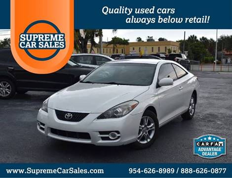 2007 Toyota Camry Solara for sale in Oakland Park, FL
