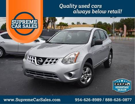 2013 Nissan Rogue for sale in Oakland Park, FL