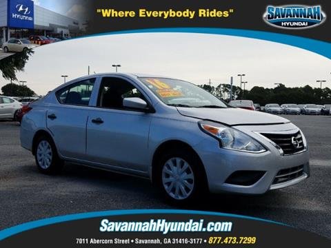 2016 Nissan Versa for sale in Savannah, GA