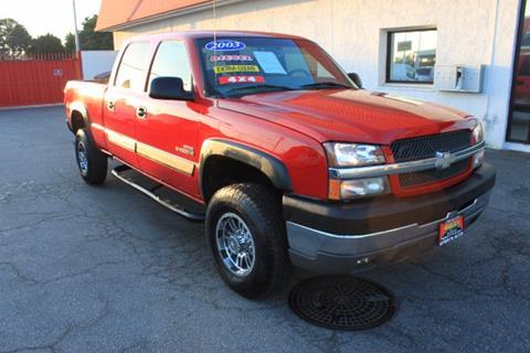2003 Chevrolet Silverado 2500HD for sale in Inglewood, CA