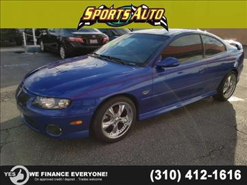 2004 Pontiac GTO for sale in Inglewood, CA