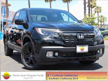 2017 Honda Ridgeline for sale in Rancho Santa Margarita, CA