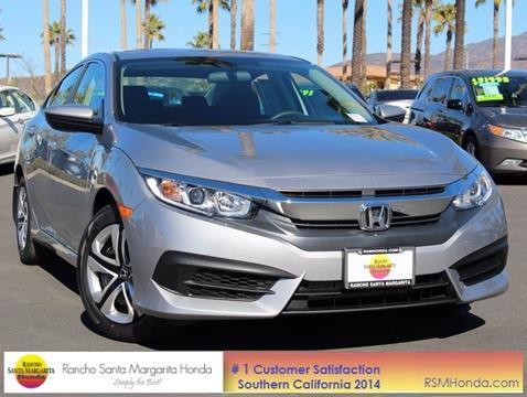2017 Honda Civic for sale in Rancho Santa Margarita, CA
