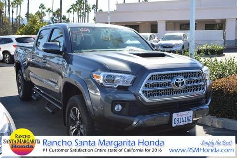 2016 Toyota Tacoma For Sale In Rancho Santa Margarita, CA