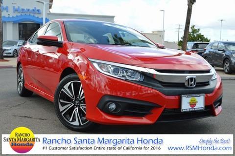 2016 Honda Civic for sale in Rancho Santa Margarita, CA