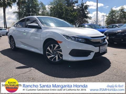 2018 Honda Civic for sale in Rancho Santa Margarita, CA
