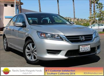 2014 Honda Accord for sale in Rancho Santa Margarita, CA