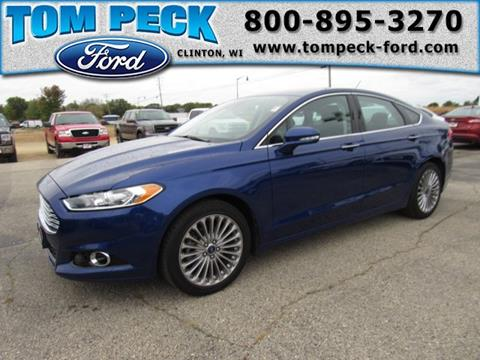 2015 Ford Fusion for sale in Clinton, WI