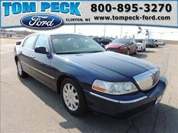 2007 Lincoln Town Car for sale in Clinton, WI