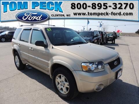 2007 Ford Escape for sale in Clinton, WI