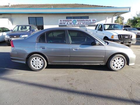 2005 Honda Civic for sale in Pleasanton, CA