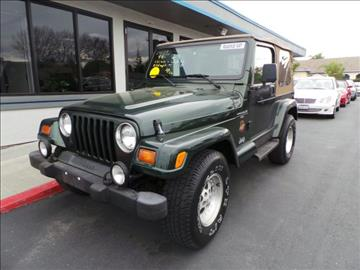 1998 Jeep Wrangler for sale in Pleasanton, CA