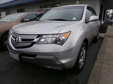 2008 Acura MDX for sale in Pleasanton, CA