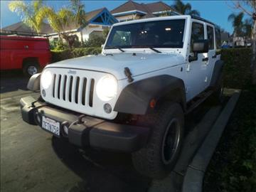 2014 Jeep Wrangler Unlimited for sale in Pleasanton, CA