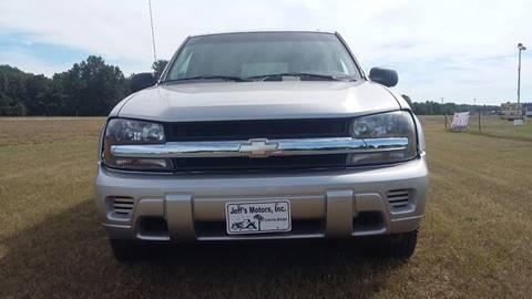 2007 Chevrolet TrailBlazer for sale at Expressway Auto Auction in Howard City MI