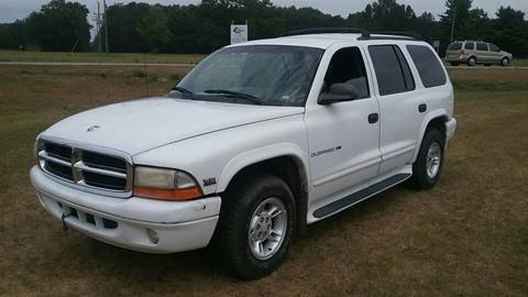 2000 Dodge Durango for sale at Expressway Auto Auction in Howard City MI