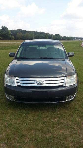 2008 Ford Taurus for sale at Expressway Auto Auction in Howard City MI
