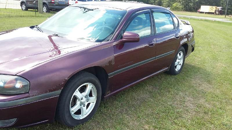 2003 Chevrolet Impala for sale at Expressway Auto Auction in Howard City MI