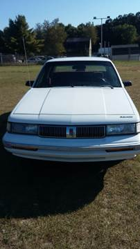 1993 Oldsmobile Cutlass Ciera for sale at Expressway Auto Auction in Howard City MI