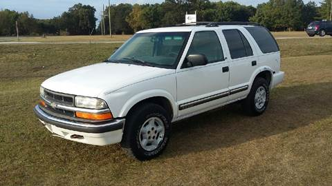 2000 Chevrolet Blazer for sale at Expressway Auto Auction in Howard City MI