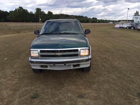 1996 Chevrolet Blazer for sale in Howard City, MI