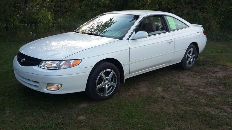 2000 Toyota Camry Solara For Sale At Expressway Auto Auction In Howard City  MI