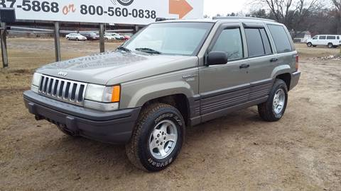 1995 Jeep Grand Cherokee for sale at Expressway Auto Auction in Howard City MI