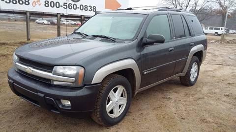 2003 Chevrolet TrailBlazer for sale at Expressway Auto Auction in Howard City MI