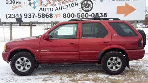 1999 Isuzu Rodeo for sale at Expressway Auto Auction in Howard City MI