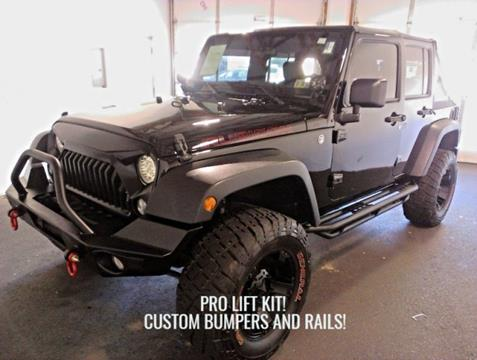2014 Jeep Wrangler Unlimited for sale in Beaver Falls PA