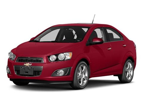 2015 Chevrolet Sonic for sale in Beaver Falls PA