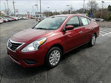 2017 Nissan Versa for sale in Beaver Falls, PA