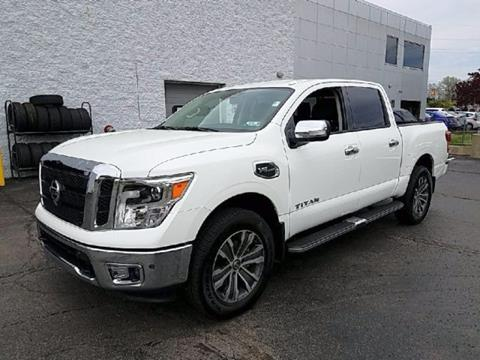 2017 Nissan Titan for sale in Beaver Falls, PA