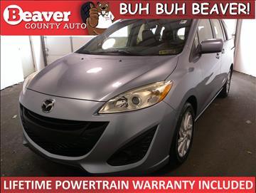 2012 Mazda MAZDA5 for sale in Beaver Falls, PA