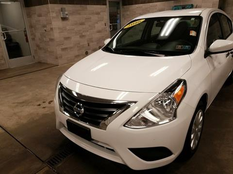 2016 Nissan Versa for sale in New Castle, PA
