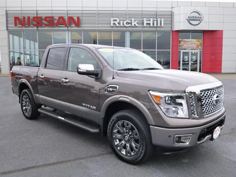 2017 Nissan Titan for sale in Dyersburg, TN