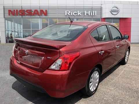Rick Hill Nissan >> 2019 Nissan Versa For Sale In Dyersburg Tn