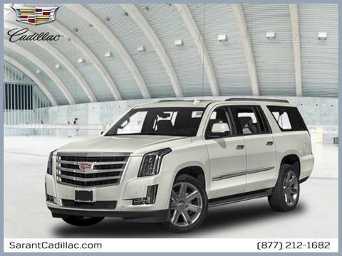 2018 Cadillac Escalade ESV for sale in Farmingdale, NY